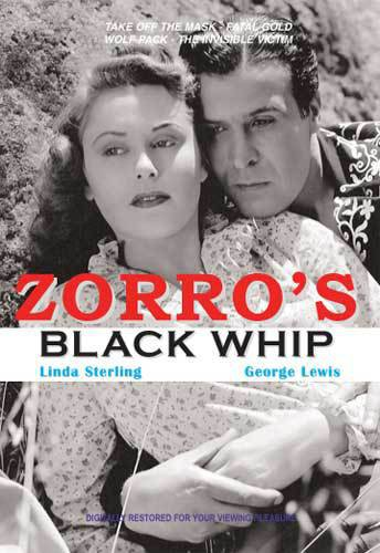 VD7286A Zorro's Black Whip #2 DVD George Lewis & Linda Sterling B/W