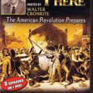 VD7290A 1950s Walter Cronkite You Are There TV American Revolution DVD Boston Tea Party