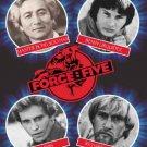 VD7602A Force Five movie DVD 2004 Bong Soo Han, Benny the Jet, Joe Lewis, Richard Norton