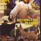 VD7467A Once Upon a Time in China movie DVD Jet Li Hong Kong kung fu action classic!