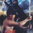 VD7579A Nine Deaths of a Ninja movie DVD Sho Kosugi classic! martial arts action