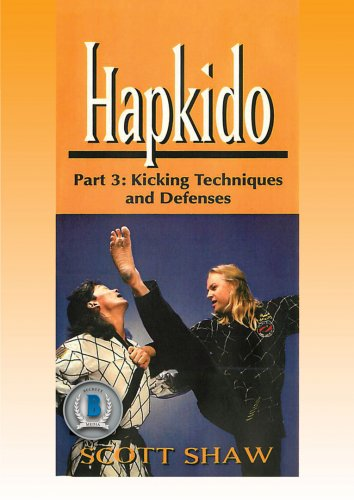 VD5192A HAP03-D  Hapkido #3 Kicking Techniques & Defenses DVD Shaw