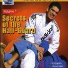 VD5152A MACH04-D  Secrets of Half-Guard #1 DVD Brazilian Jiu Jitsu MMA