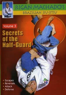 VD5154A MACH06-D  Secrets of Half-Guard #3 DVD Brazilian Jiu Jitsu