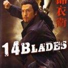 VD7653A KF-0123  14 Blades chinese kung fu movie DVD Donnie Yen