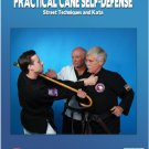 VD2603A  Practical Cane Self-Defense Street Techniques & Kata DVD Stalloch Crandall