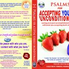 VO7104A  Bible Psalms for Accepting Yourself Unconditionally DVD+ Audio CD Set prayers