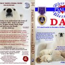 VO7125A  Bible Psalms for My Blessed Dad father DVD + Audio CD Set uplifting prayers