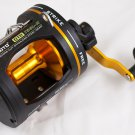 YZ0071A  T25L-II Omoto DELUXE GTR 2-Speed Graphite Reel Level Wind Ocean trolling fishing