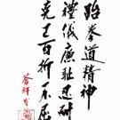 "GP0013A  General Choi Tenets Rules of Taekwondo Korean Karate Display Plaque 11""x17"""