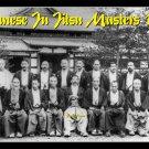 GP0066A  1936 Eight Okinawan Karate Masters Display Gift Plaque RARE Photo! 11x17