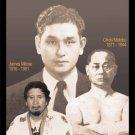 GP0075A  Japanese Okinawa Kenpo Karate Founders martial arts Display Wall Plaque 11x17