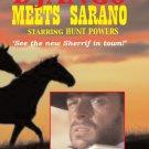 VD7736A  Django Meets Sarano western cowboy movie DVD Hunt Powers digitially restored