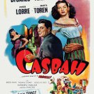 VD7639A  The Casbah old school movie DVD Yvonne DeCarlo Tony Martin Peter Lorre