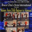 VD7742A  Modern Abanico Arnis Drills Beginner - Advanced single double siniwalli DVD Chiu