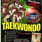 VD9910P  Taekwondo Korean Karate HOLIDAY Gift Set 11 DVDs + Focus Mitt & More! $295 Value