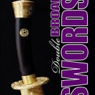 BO9947A  Chinese Kung Fu Tornado Double Broad Swords Book Chan strikes slashes stabs RARE