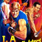 VD6027A   L.A. Streetfighters - Martial Arts Gang Action movie DVD Jun Chong James Lew