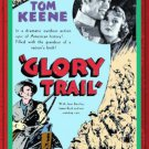 VD6051A  Glory Trail - Tom Keene E.H. Calvert classic western 1936 B&W movie DVD