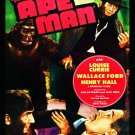 VD9056A  Ape Man DVD - 1943 Bela Lugosi Science Fiction Horror Classic B/W
