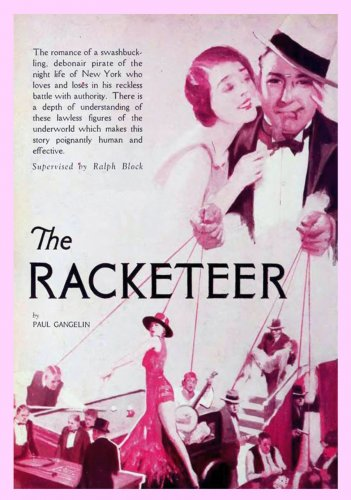 VD9062A  The Racketeer DVD - 1929 B/W Gangster Romance Carole Lombard movie