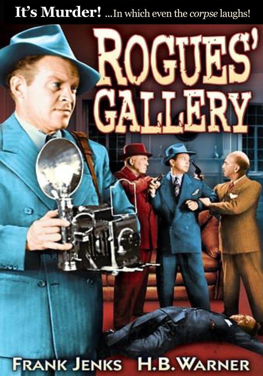 VD9064A  Rogues' Gallery DVD- 1944 B/W Murder Mystery Frank Jenks H B Warner