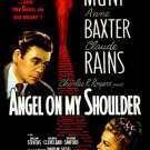 VD9082A   Angel on My Shoulder DVD - 1946 B/W Paul Muni deal with devil Claude Rains