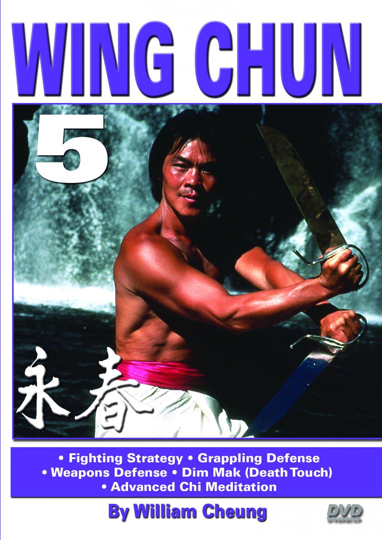 VD5516A  Grandmaster William Cheung Wing Chun #5 DVD  Fighting, Grappling, Dim Mak