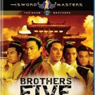 VO1636A  Brothers Five BLU RAY DVD - Shaw Bros Kung Fu Martial Arts Action Classic
