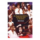 BO9101A  An Illustrated History of Martial Arts in America 1900-Present Book Bob Wall