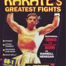 "VL0705A  Dennis ""The Terminator"" Alexio vs Darrell Henegan Pro Karate Greatest Fights DVD"