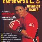 "VL0707A  Don ""Dragon"" Wilson vs Dennis ""Terminator"" Alexio Pro Karate Greatest Fights DVD"