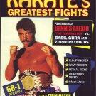 VL0711A  Dennis Terminator Alexio vs Basil Gura & Reynolds Pro Karate Greatest Fights DVD