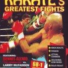 "VL0712A  Dennis ""The Terminator"" Alexio vs Larry McFadden Pro Karate Greatest Fights DVD"