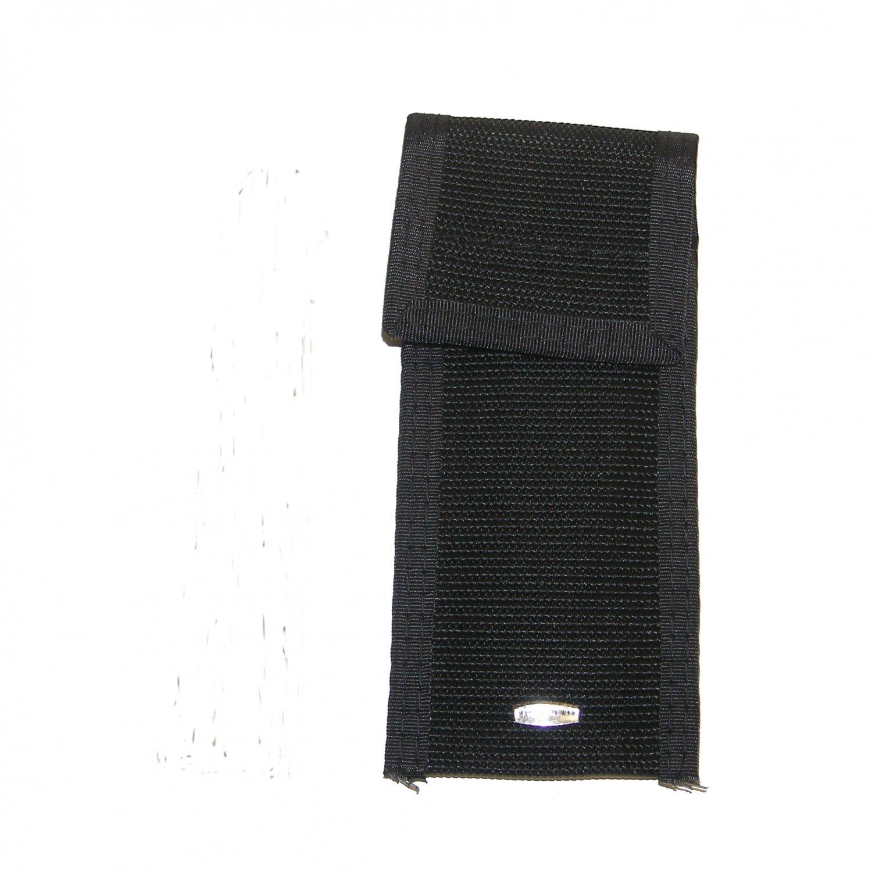 "KO9001A  Black Balisong Butterfly Folding Knife Web Belt POUCH 5"" NEW! benchmade style"