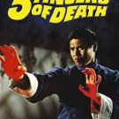 VO1664A  5 Fingers of Death DVD Kung Fu martial arts action Lo Lieh, Wong Ping