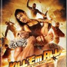 VO1739A  Kill Em All DVD Martial Arts Action Kung Fu Joe Lewis, Messner Chia Hui Liu