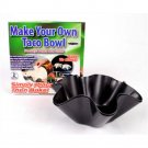 YK0042A  Make Your Own Taco Bowl 2 piece Mold Set ASOTV