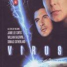 VD9088A  Virus DVD Jamie Lee Curtis, William Baldwin, Donald Sutherland, Joanna Pacula