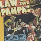 VD9109A  Law Of The Pampas DVD William Boyd, Russell Hayden, Sidney Toler