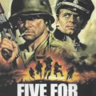 VD9111A  Five for Hell WWII commandos DVD Gianni Garko, Margaret Lee, Klaus Kinski