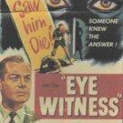 VD9112A  Eye Witness DVD Robert Montgomery, Leslie Banks, Felix Aylmer