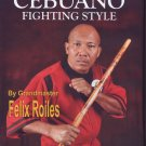 VD5112A  Filipino Martial Art Cebuano Stick Fighting #4 DVD GM Felix Roiles escrima kali