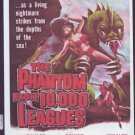 VD9104A  The Phantom from 10,000 Leagues Sci Fi DVD Kent Taylor, Cathy Downs