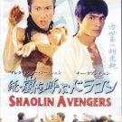 VO1777A  Shaolin Avengers AKA The Invincible Kung Fu Brothers DVD Chi Kuan-Chun, Fu Sheng