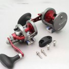 YZ0074A  LEFT Hand Omoto Talos TS10 Wide Fishing Jigging 18# Compact Reel Ocean/Fresh