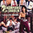 VO1831A  Two Champions of Shaolin DVD classic kung fu the Venoms, Lo Meng, Chiang Sheng