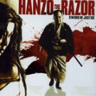 VO1038A Hanzo the Razor Sword of Justice - Japanese Kazuo Koike Manga movie DVD 4.5 star