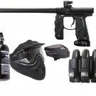 DXP0005P  Electronic Empire Mini GS Paintball Gun Set HPA tank, goggles, loader, harness