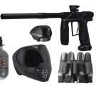 DXP0009P  Tournament Empire Axe Pro Paintball Gun Set HPA tank, goggles, loader, harness